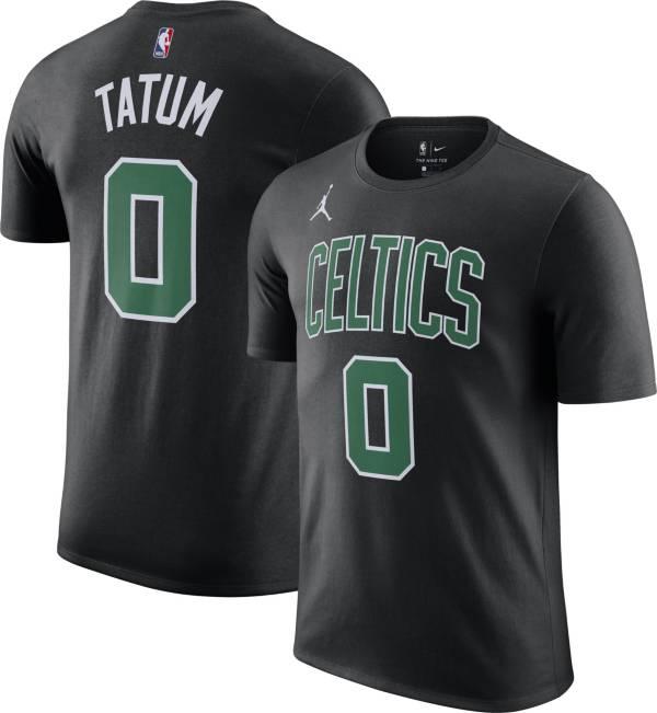 Jordan Men's Boston Celtics Jayson Tatum #0 Statement Black T-Shirt product image