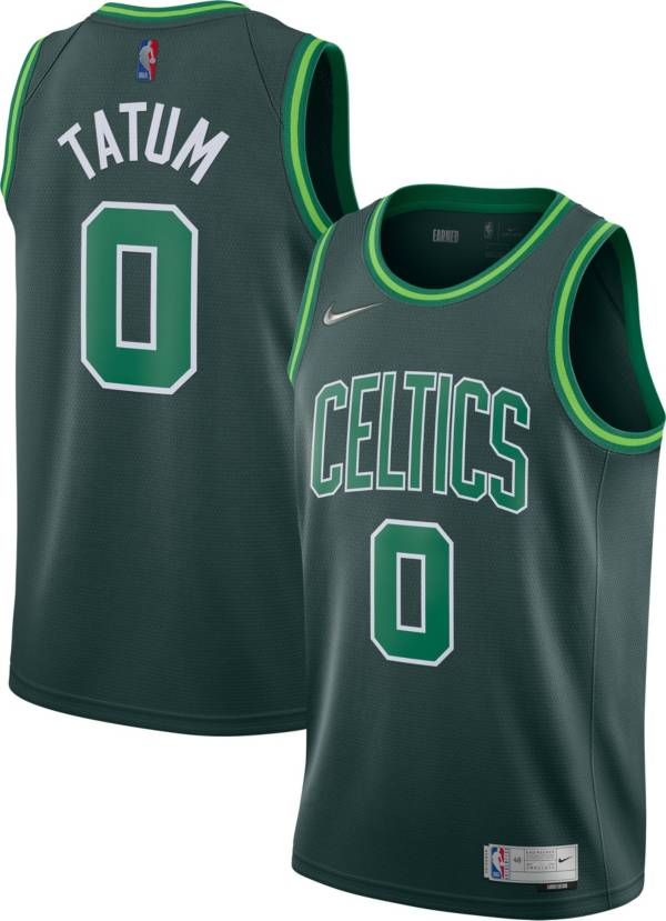 Nike Men's Boston Celtics 2021 Earned Edition Jayson Tatum Dri-FIT Swingman Jersey product image