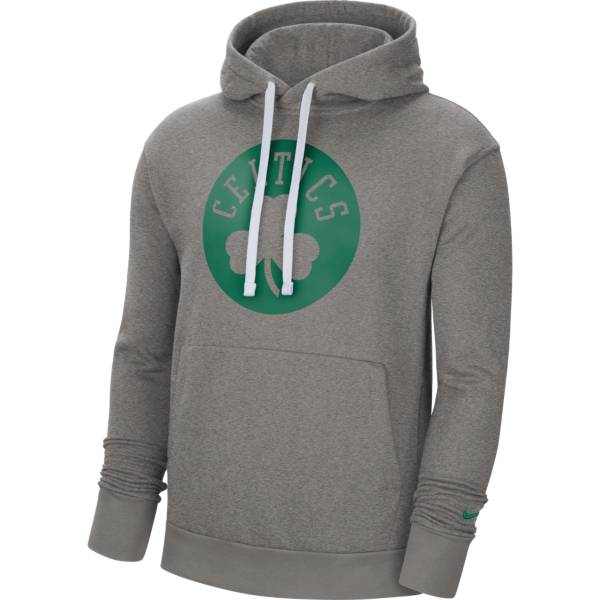 Nike Men's Boston Celtics Grey Pullover Hoodie product image