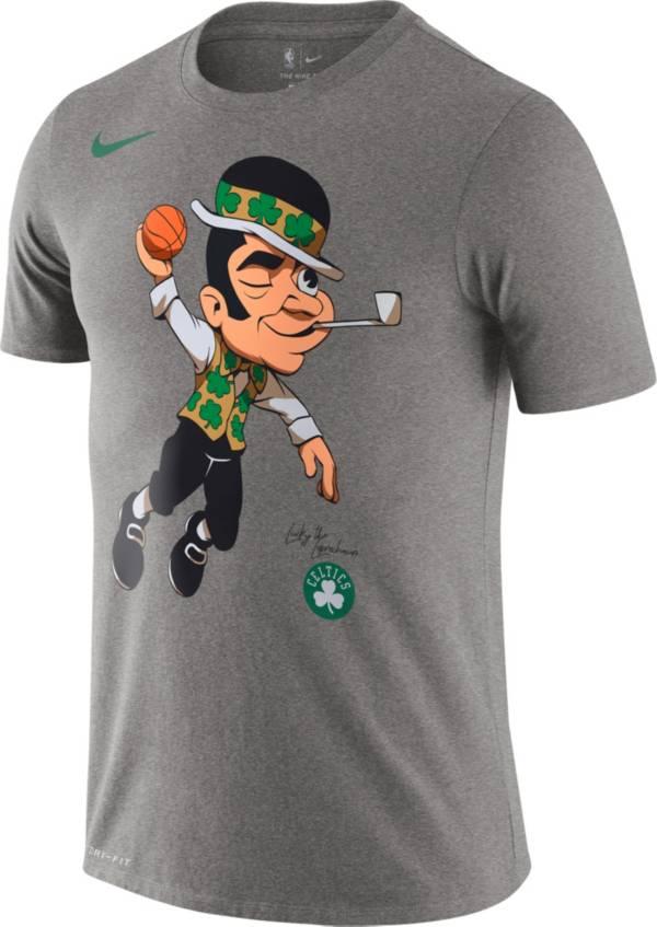 Nike Men's Boston Celtics Mascot Short Sleeve T-Shirt product image