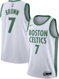 Nike Men's 2020-21 City Edition Boston Celtics Jaylen Brown #7 Dri-FIT Swingman Jersey