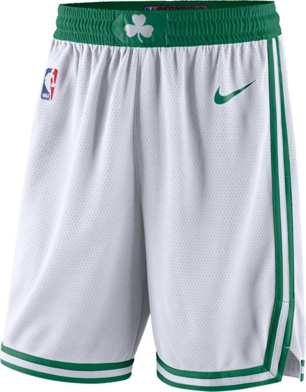 Nike Men's Boston Celtics White Dri-FIT Swingman Shorts product image