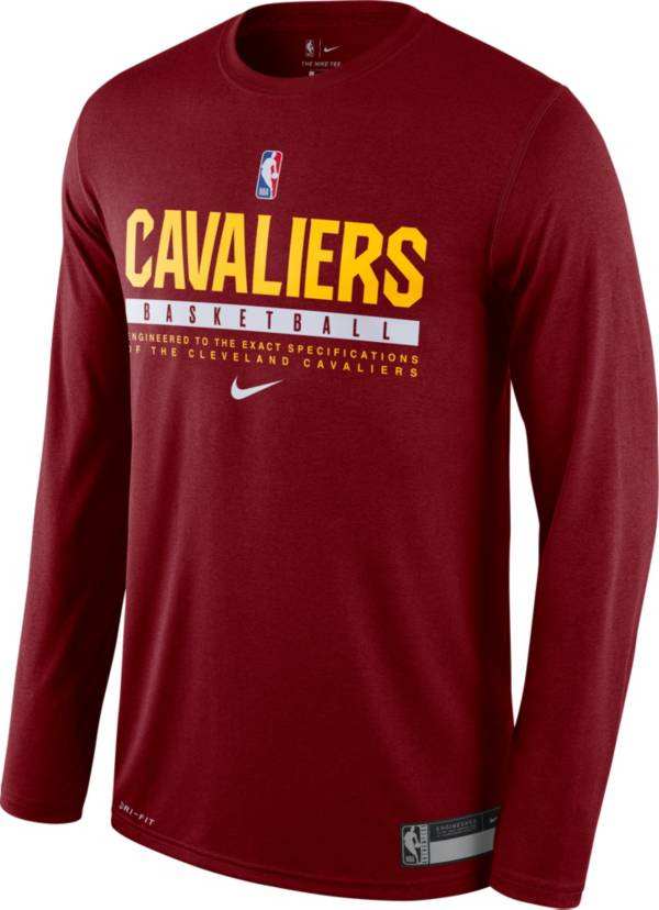 Nike Men's Cleveland Cavaliers Dri-FIT Practice Long Sleeve Shirt product image