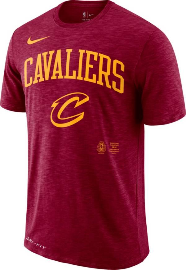 Nike Men's Cleveland Cavaliers Dri-FIT Arch Wordmark Slub T-Shirt product image