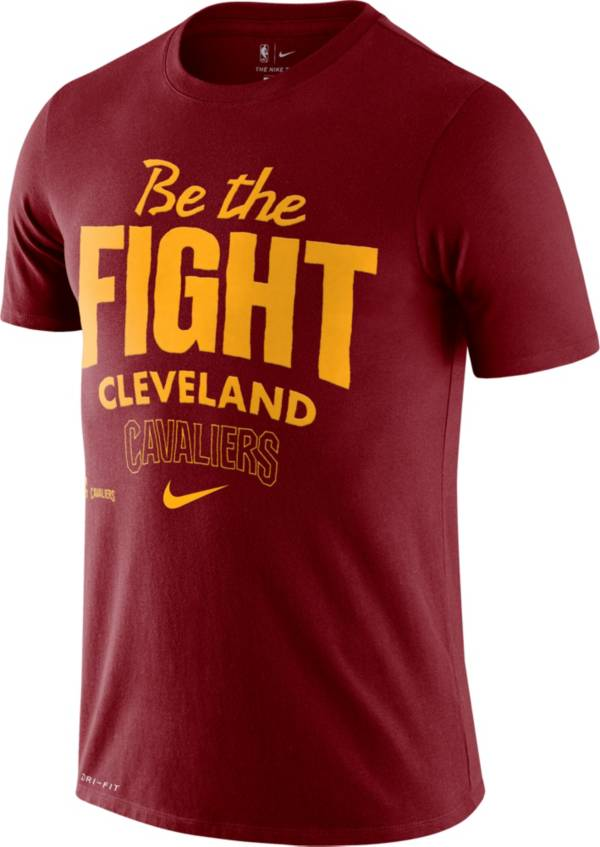 Nike Men's Cleveland Cavaliers Red Dri-FIT Mantra T-Shirt product image
