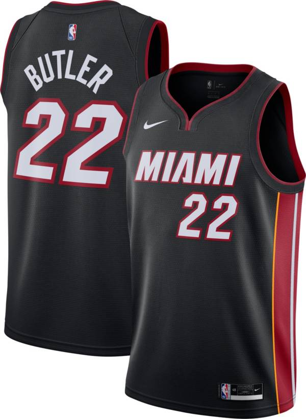Nike Men's Miami Heat Jimmy Butler #22 Black Icon Jersey product image