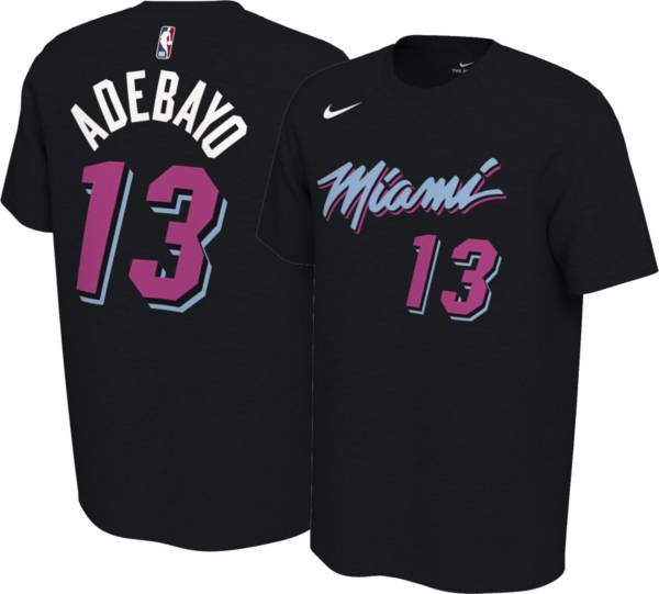 Nike Men's Miami Heat Bam Adebayo #13 Dri-FIT City Edition T-Shirt product image