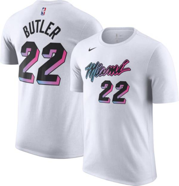 Nike Men's 2020-21 City Edition Miami Heat Jimmy Butler #22 Cotton T-Shirt product image