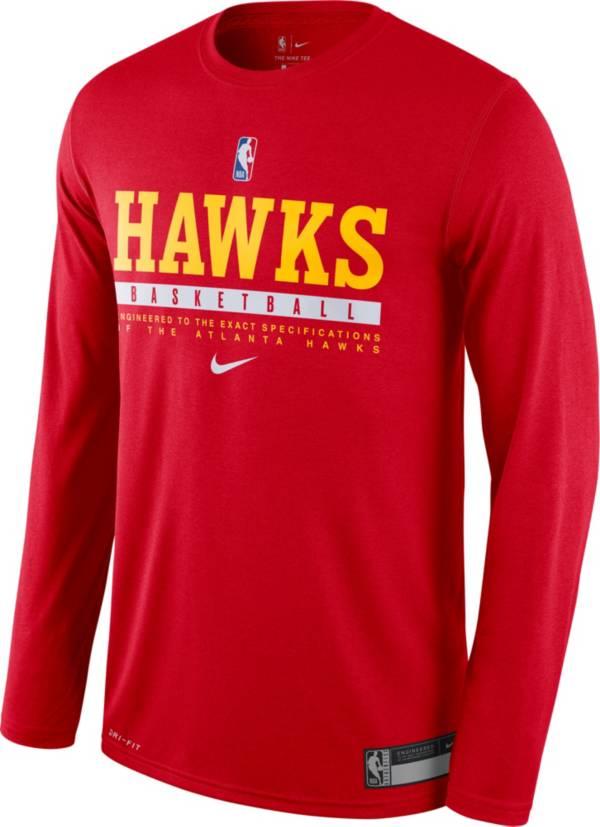 Nike Men's Atlanta Hawks Dri-FIT Practice Long Sleeve Shirt product image