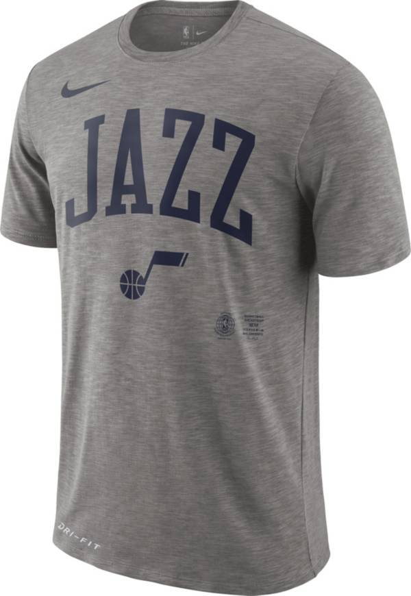 Nike Men's Utah Jazz Dri-FIT Arch Wordmark Slub T-Shirt product image
