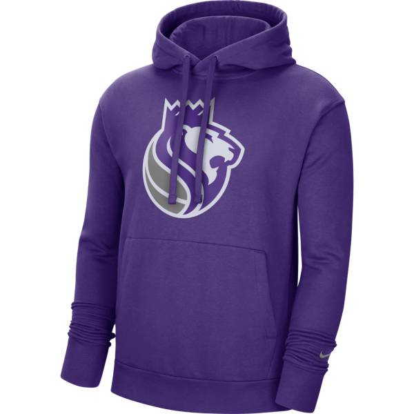 Nike Men's Sacramento Kings Purple Pullover Hoodie product image