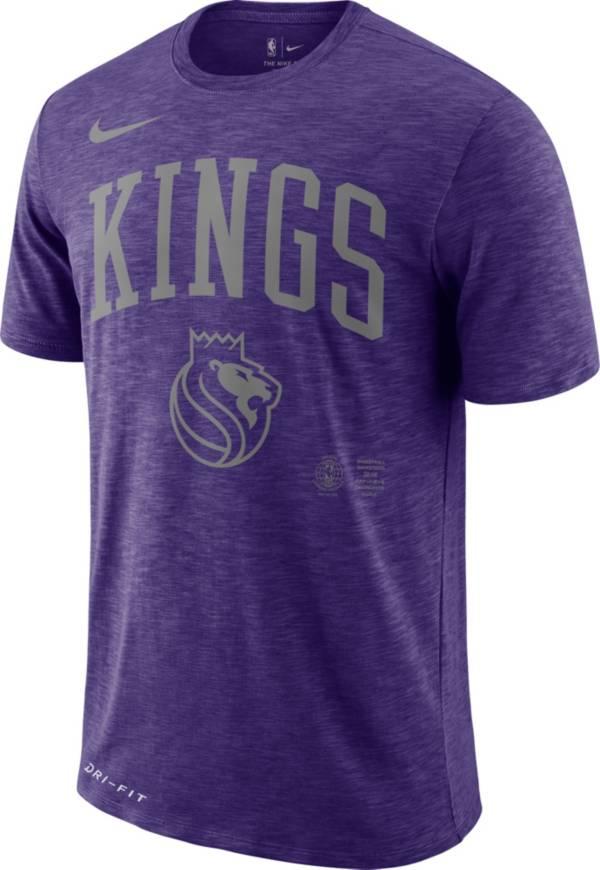 Nike Men's Sacramento Kings Dri-FIT Arch Wordmark Slub T-Shirt product image