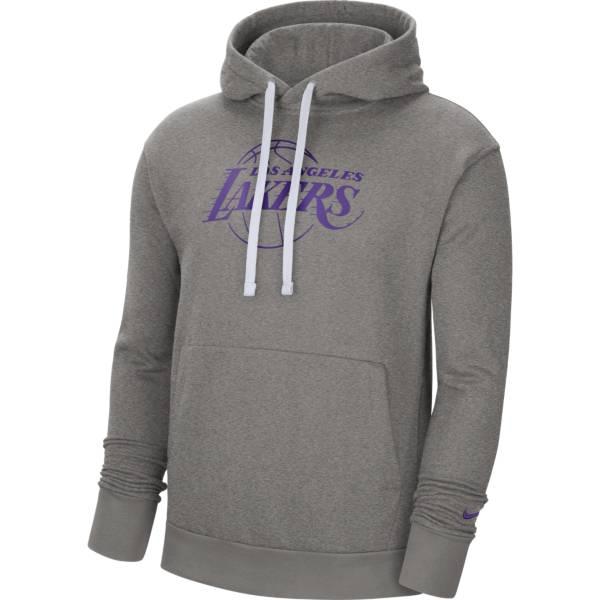 Nike Men's Los Angeles Lakers Grey Pullover Hoodie product image