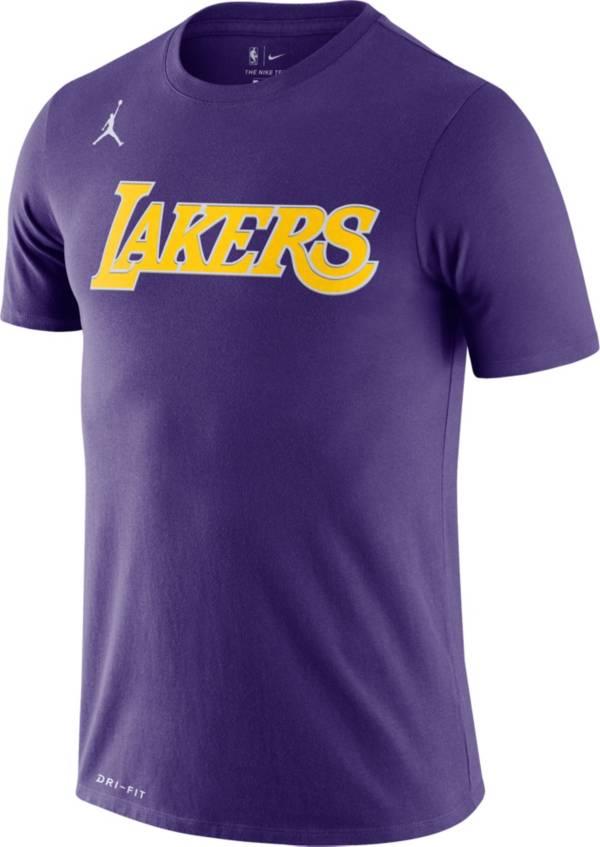 Jordan Men's Los Angeles Lakers Dri-FIT Statement Edition T-Shirt product image