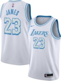 Nike 2020-21 City Edition Los Angeles Lakers LeBron James Jersey