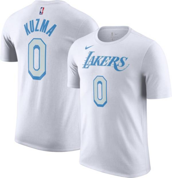 Nike Men's 2020-21 City Edition Los Angeles Lakers Kyle Kuzma #0 Cotton T-Shirt product image