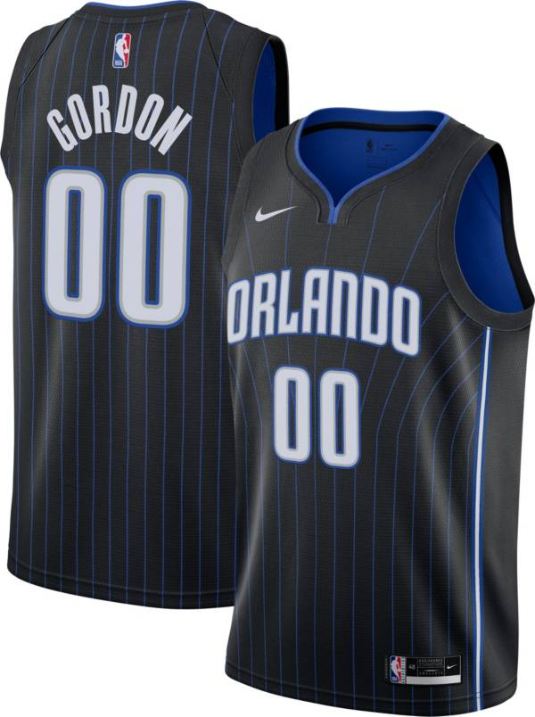 Nike Men's Orlando Magic Aaron Gordon #00 Black Dri-FIT Icon Jersey product image