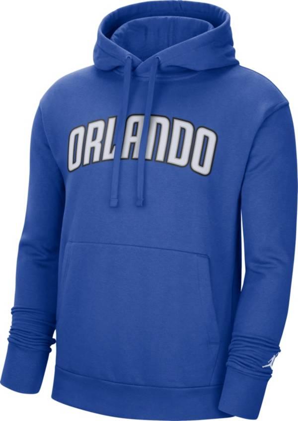 Jordan Men's Orlando Magic Blue Statement Pullover Hoodie product image