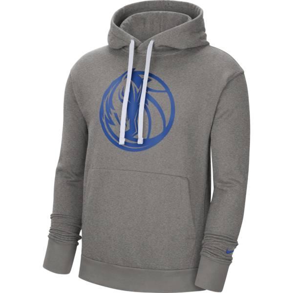 Nike Men's Dallas Mavericks Grey Pullover Hoodie product image