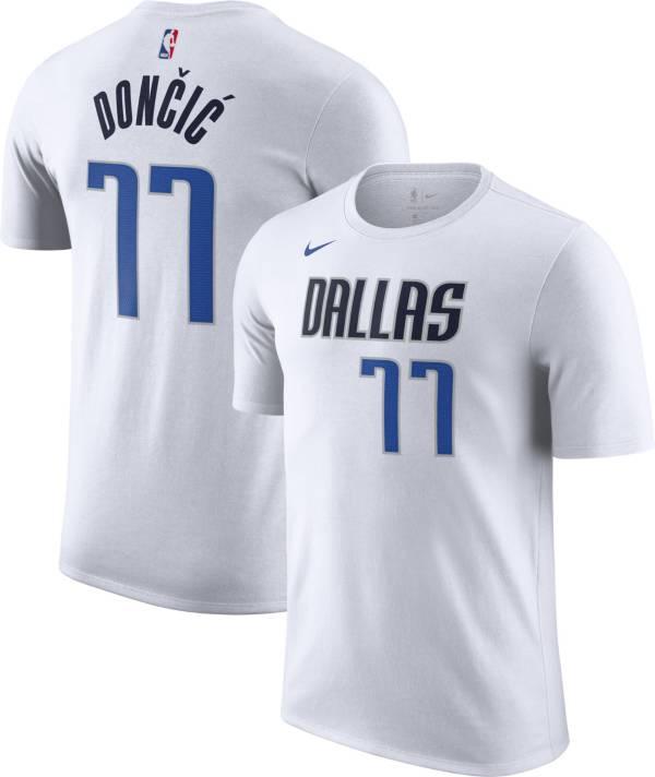 Nike Men's Dallas Mavericks Luka Doncic #77 Dri-FIT White T-Shirt product image