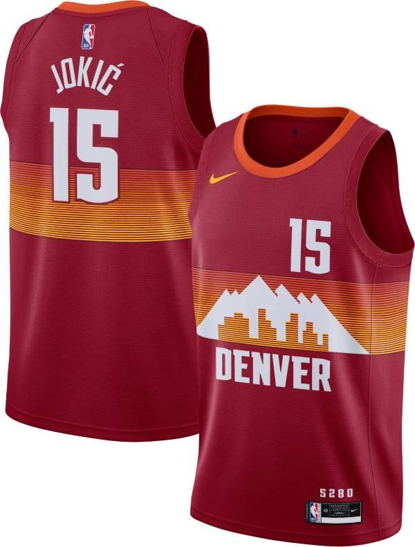 Nike Men's 2020-21 City Edition Denver Nuggets Nikola Jokic #15 Dri-FIT Swingman Jersey product image