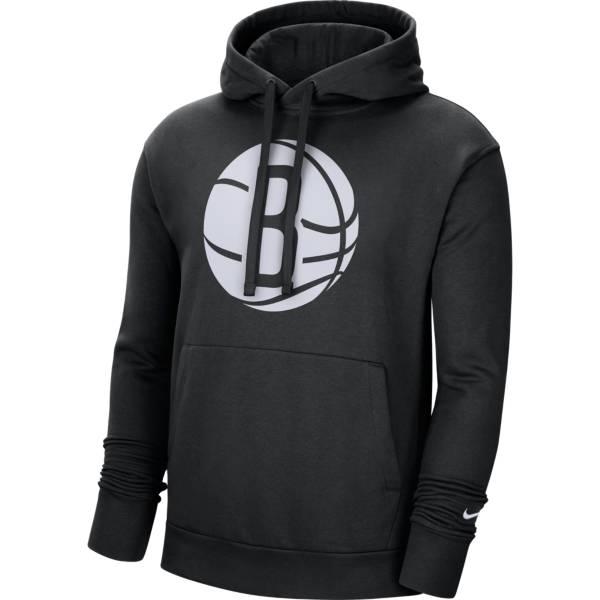 Nike Men's Brooklyn Nets Black Pullover Hoodie product image
