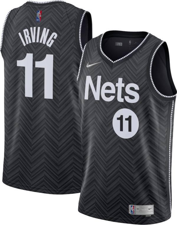 Nike Men's Brooklyn Nets 2021 Earned Edition Kyrie Irving Dri-FIT Swingman Jersey product image