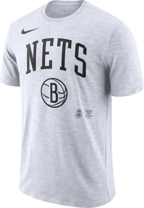Nike Men's Brooklyn Nets Dri-FIT Arch Wordmark Slub T-Shirt product image