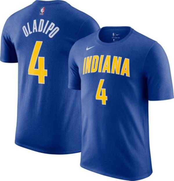 Nike Men's 2020-21 City Edition Indiana Pacers Victor Oladipo #4 Cotton T-Shirt product image