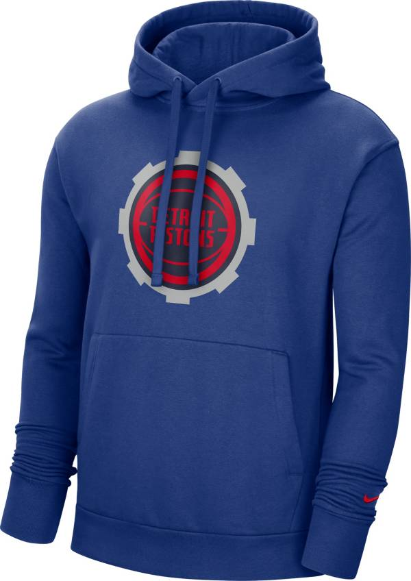 Nike Men's 2020-21 City Edition Detroit Pistons Logo Pullover Hoodie product image