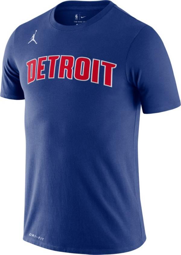 Jordan Men's Detroit Pistons Dri-FIT Statement Edition T-Shirt product image