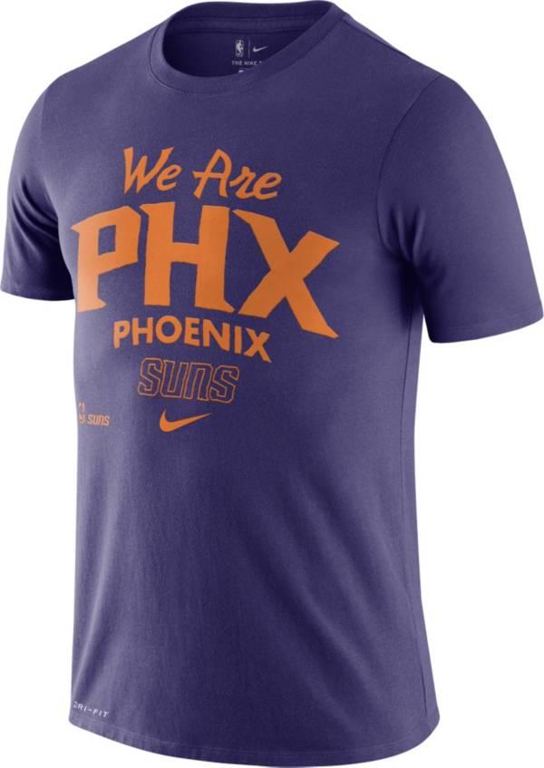 Nike Men's Phoenix Suns Purple Dri-FIT Mantra T-Shirt product image