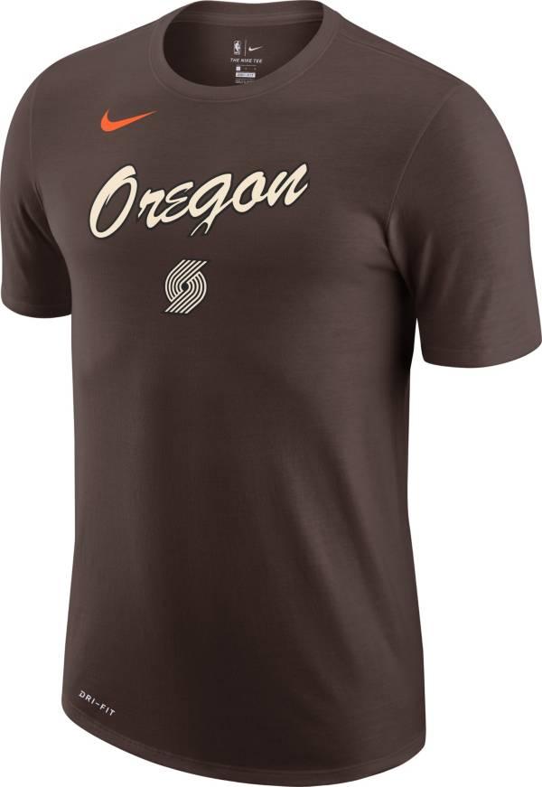 Nike Men's 2020-21 City Edition Portland Trail Blazers Dri-FIT Logo T-Shirt product image