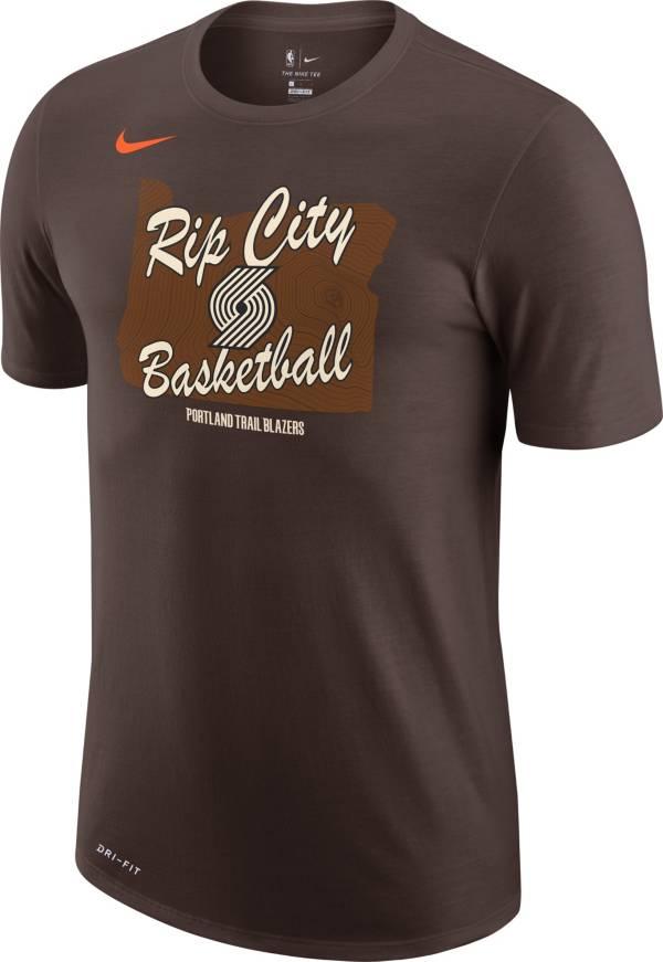 Nike Men's 2020-21 City Edition Portland Trail Blazers Dri-FIT Mantra T-Shirt product image