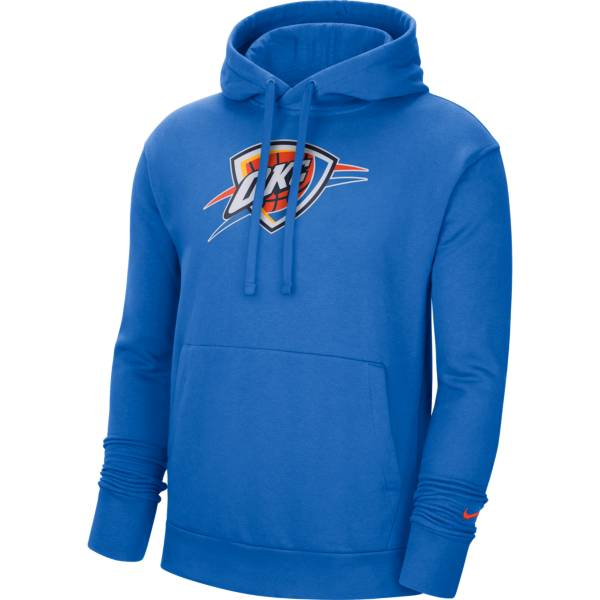 Nike Men's Oklahoma City Thunder Blue Pullover Hoodie product image