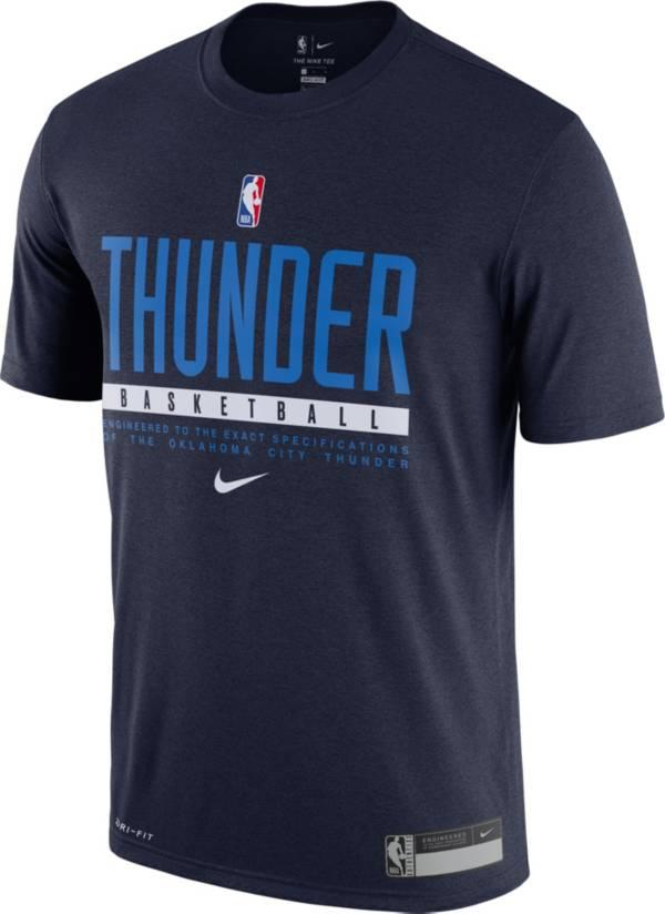 Nike Men's Oklahoma City Thunder Dri-FIT Practice T-Shirt product image