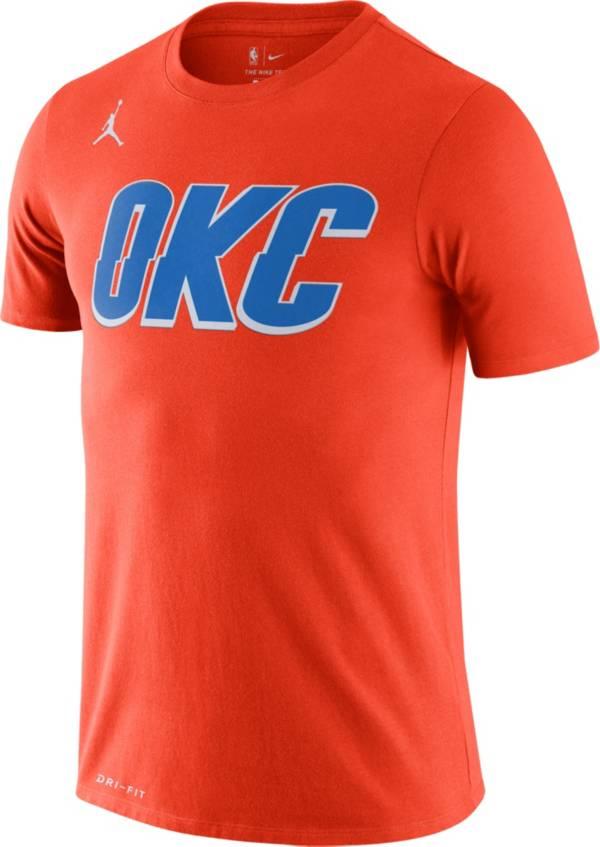 Jordan Men's Oklahoma City Thunder Dri-FIT Statement Edition T-Shirt product image