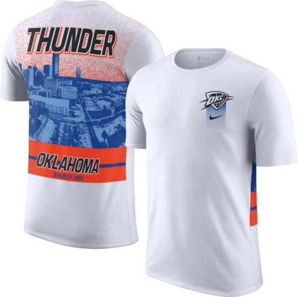 Nike Men's 2020-21 City Edition Oklahoma City Thunder Courtside T-Shirt product image
