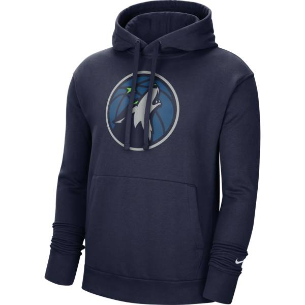 Nike Men's Minnesota Timberwolves Navy Pullover Hoodie product image