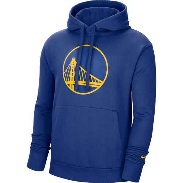 Nike Men's Golden State Warriors Blue Pullover Hoodie product image