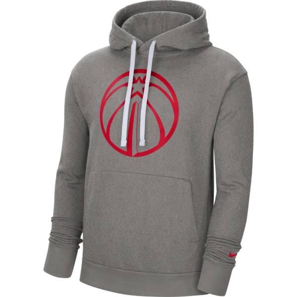Nike Men's Washington Wizards Grey Pullover Hoodie product image