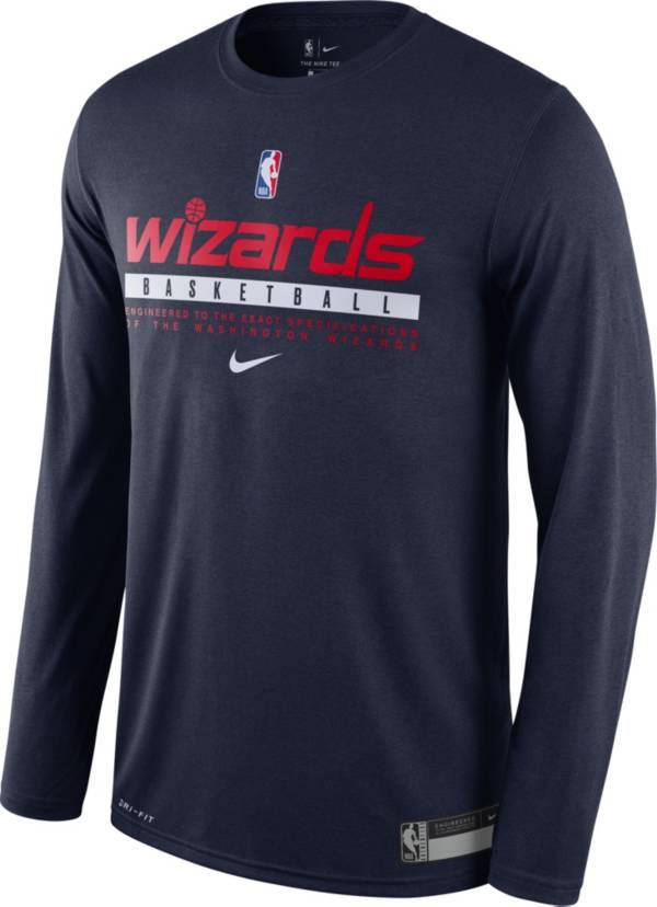 Nike Men's Washington Wizards Dri-FIT Practice Long Sleeve Shirt product image