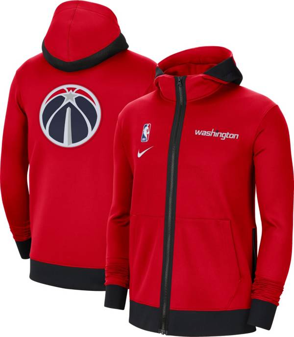 Nike Men's Washington Wizards Red Therma Flex Full-Zip Hoodie product image