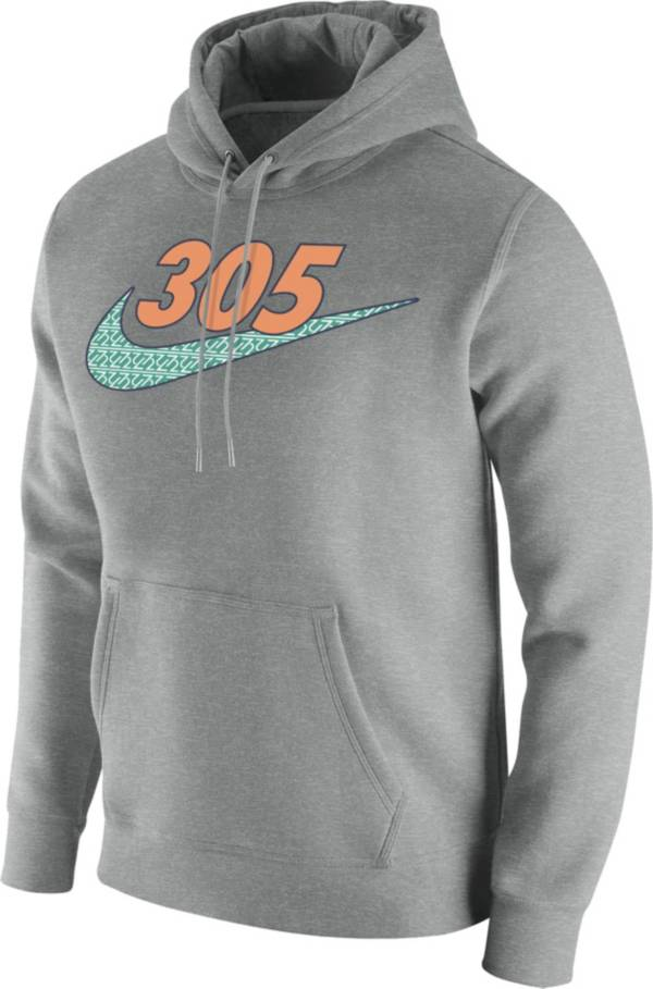 Nike Men's 305 Area Code Grey Pullover Hoodie product image