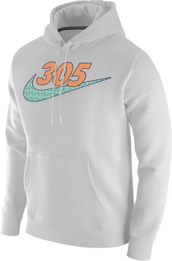 Nike Men's 305 Area Code White Pullover Hoodie product image