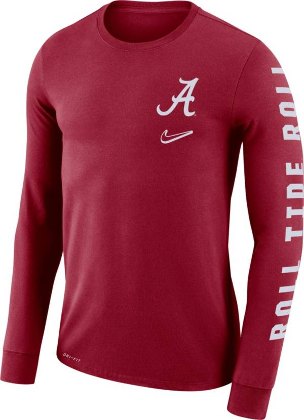 Nike Men's Alabama Crimson Tide Crimson 'Roll Tide Roll' Mantra Long Sleeve T-Shirt product image