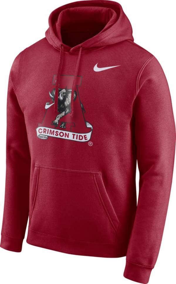 Nike Men's Alabama Crimson Tide Crimson Club Vault Pullover Hoodie product image