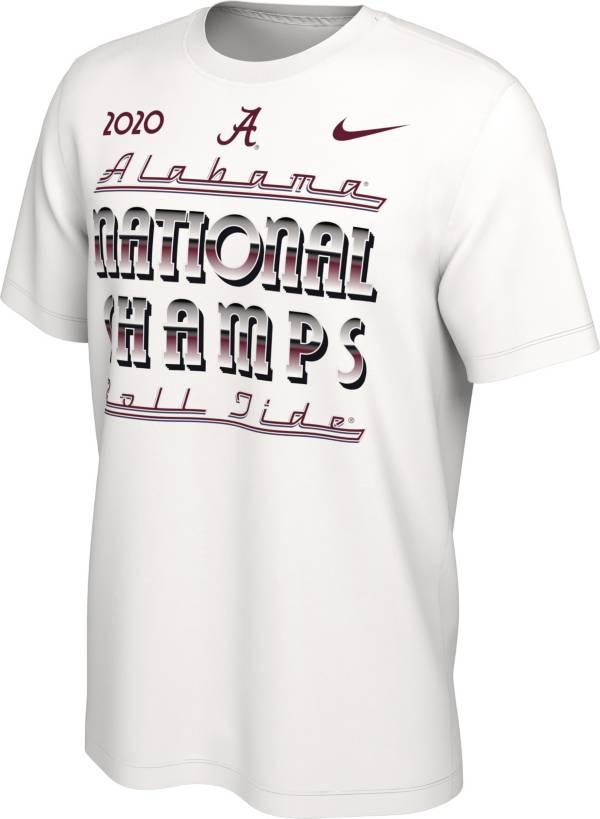 Nike Men's 2020 National Champions Alabama Crimson Tide Celebration T-Shirt product image