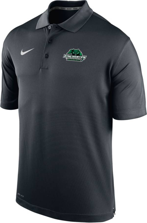 Nike Men's Binghamton Bearcats Varsity Black Polo product image