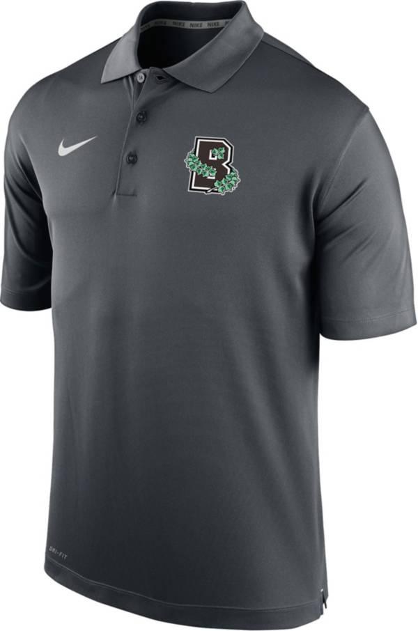 Nike Men's Brown University Bears Grey Varsity Polo product image